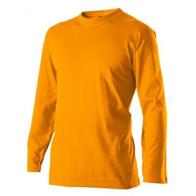 Triko pánské s dlouhým rukávem oranžová