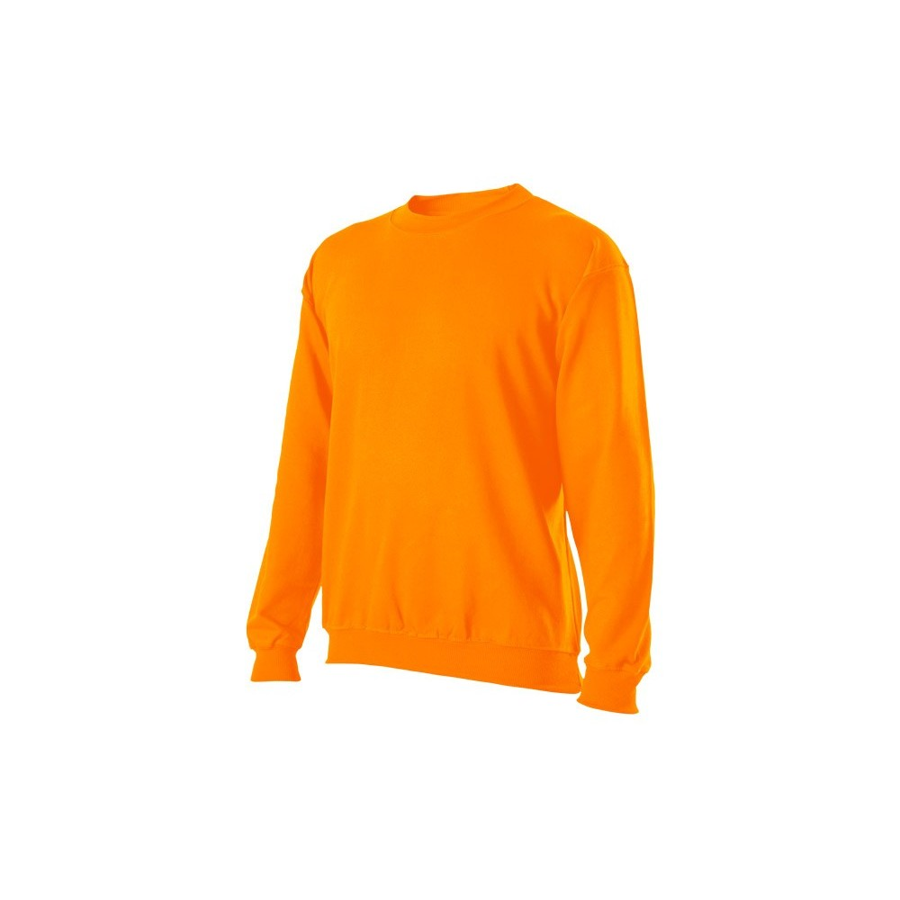 Mikina klasická unisex oranžová