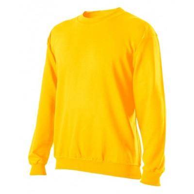 Mikina klasická unisex žlutá
