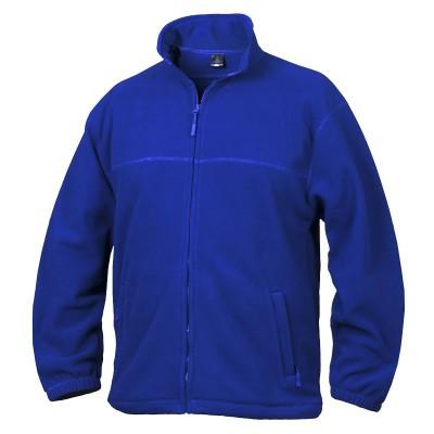 Fleece mikina unisex královská modrá