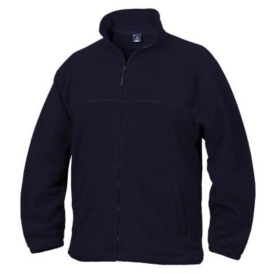 Fleece mikina unisex tmavě modrá